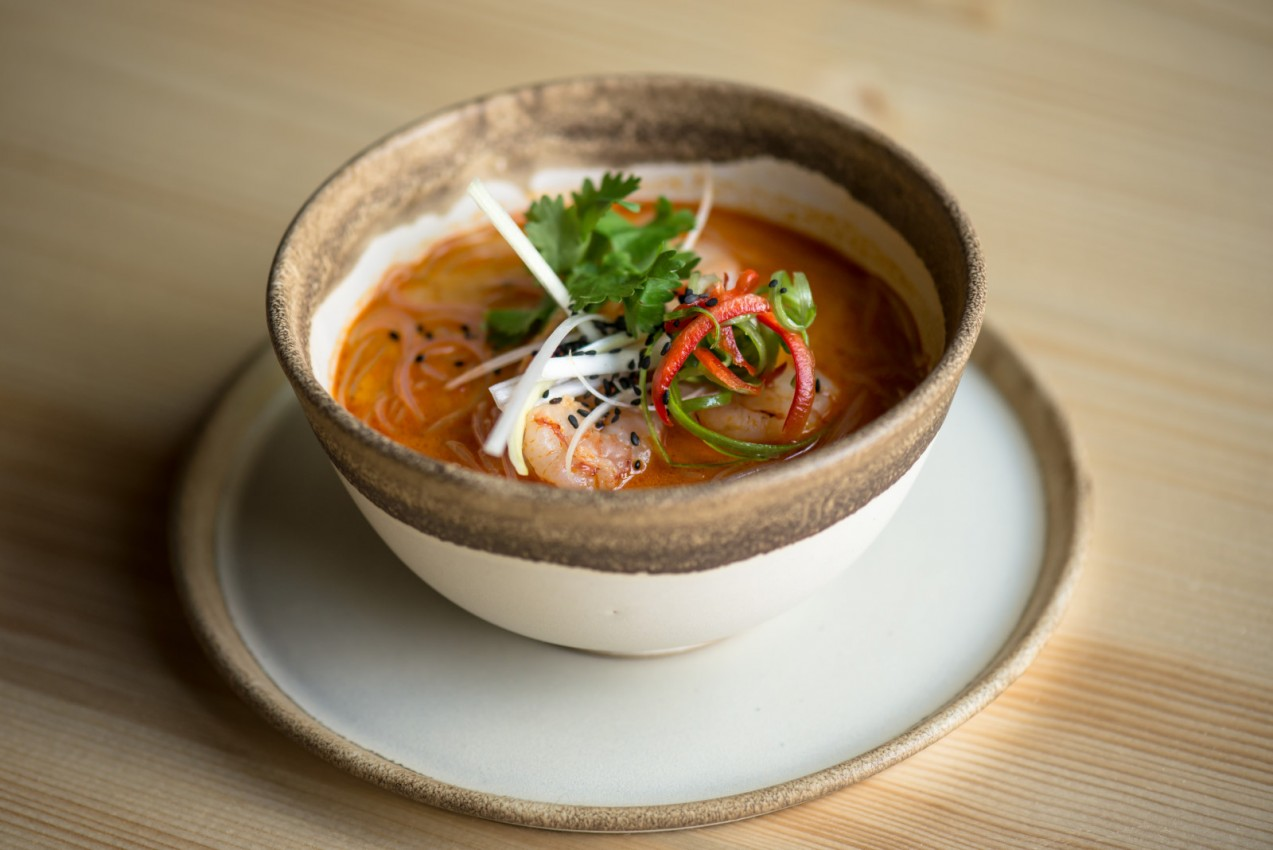 Ponuka jedla v Satori Fusion Restaurant