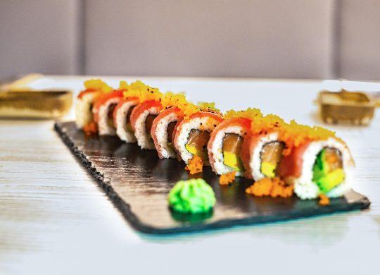 Sushi lístok
